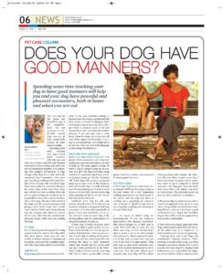 does your dog have good manners?